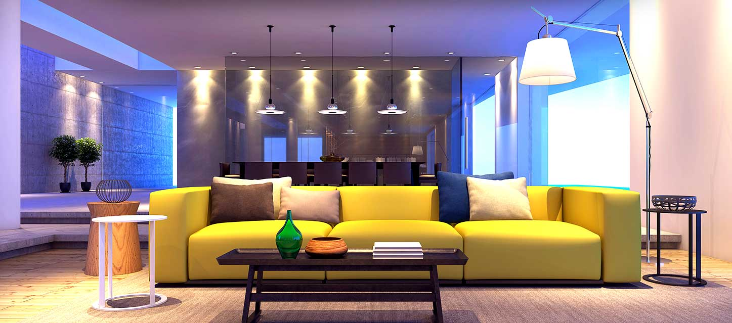 Magik LED lights for living room